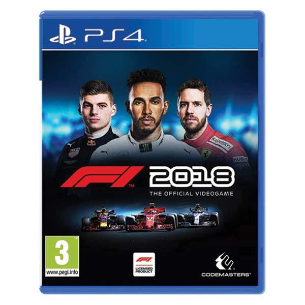 F1 2018: The Official Videogame[PS4]-BAZAR (použité zboží)