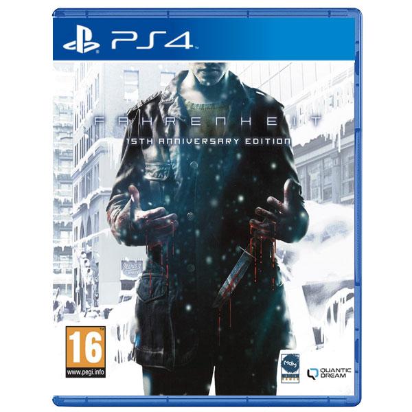 Fahrenheit (15th Anniversary Edition) PS4