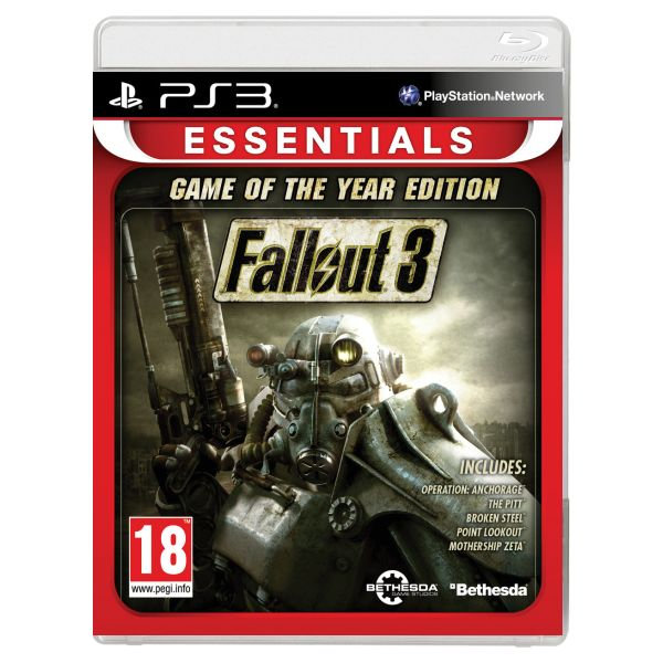 Fallout 3 (Game of the Year Edition) PS3