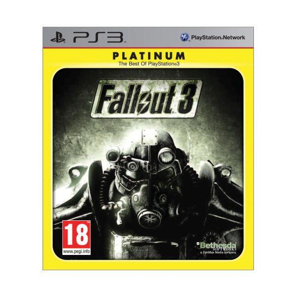 Fallout 3-PS3-BAZAR (použité zboží)