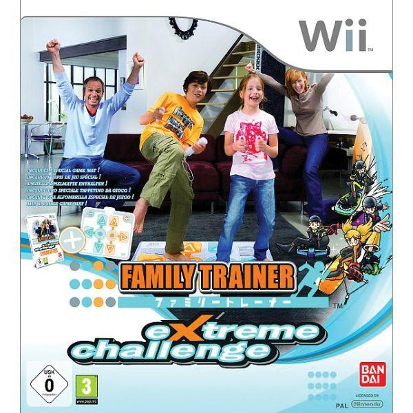 Family Trainer: Extreme Challenge + podložka Wii