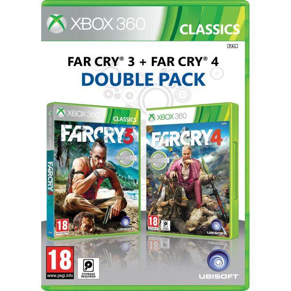 Far Cry 3 + Far Cry 4 (Double Pack) XBOX 360