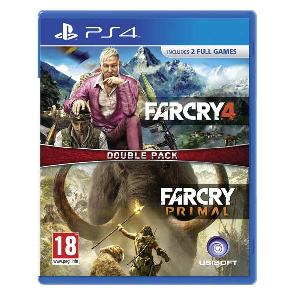 Far Cry 4 + Far Cry: Primal (Double Pack) PS4