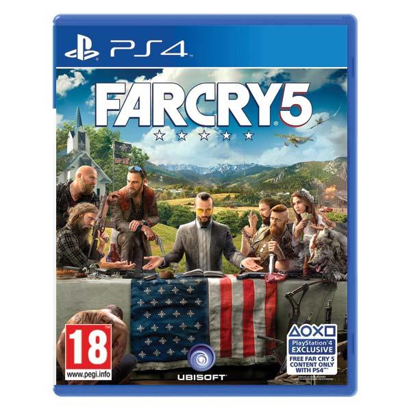 Far Cry 5[PS4]-BAZAR (použité zboží)