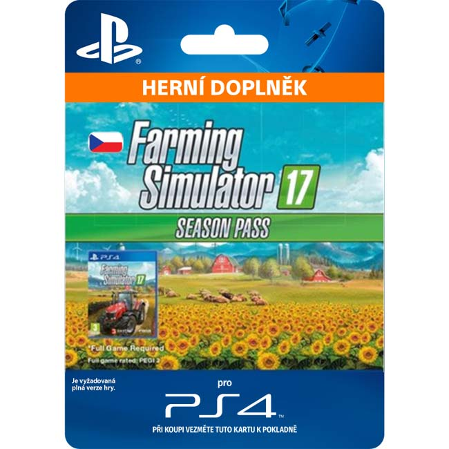 Farming Simulator 17 (CZ Season Pass)