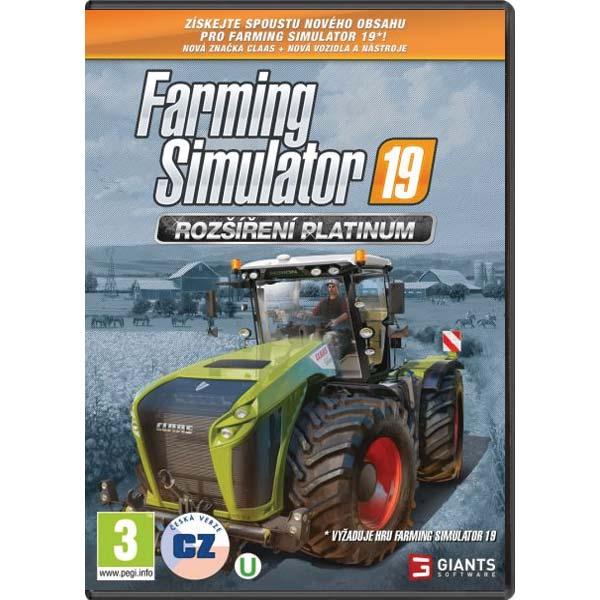 Farming Simulator 19: Rozšíření Platinum CZ