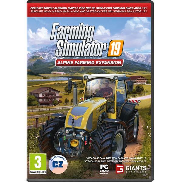 Farming Simulator 19: Rozšíření Alpine Farming CZ