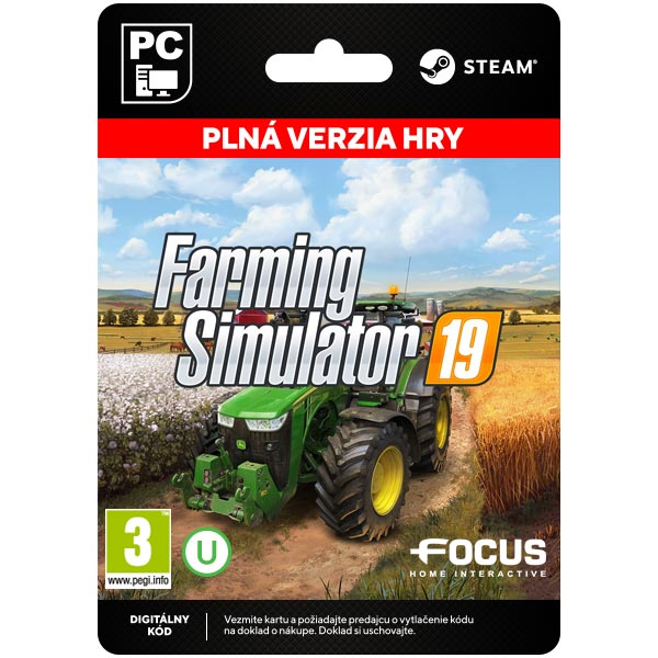 Farming Simulator 19[Steam]