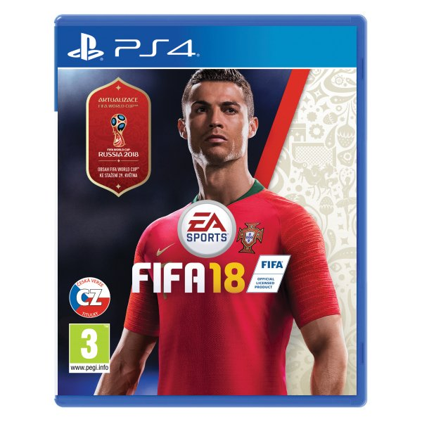 FIFA 18 CZ[PS4]-BAZAR (použité zboží)