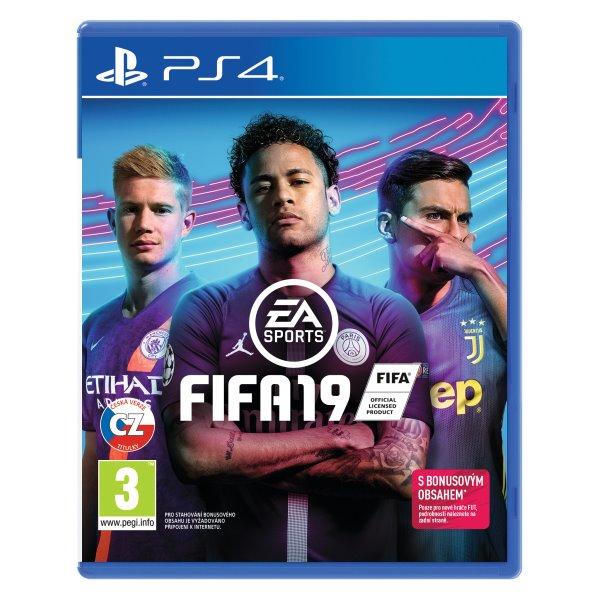 FIFA 19 CZ[PS4]-BAZAR (použité zboží)