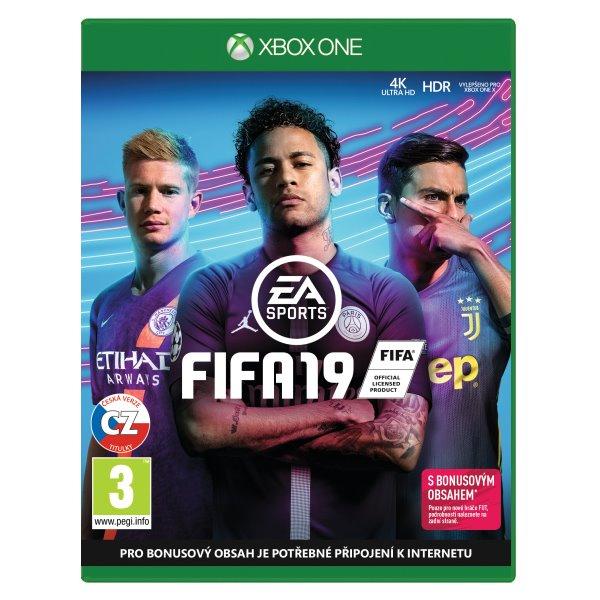 FIFA 19 CZ[XBOX ONE]-BAZAR (použité zboží)