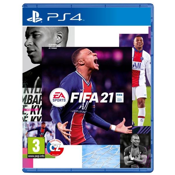 FIFA 21 CZ[PS4]-BAZAR (použité zboží)