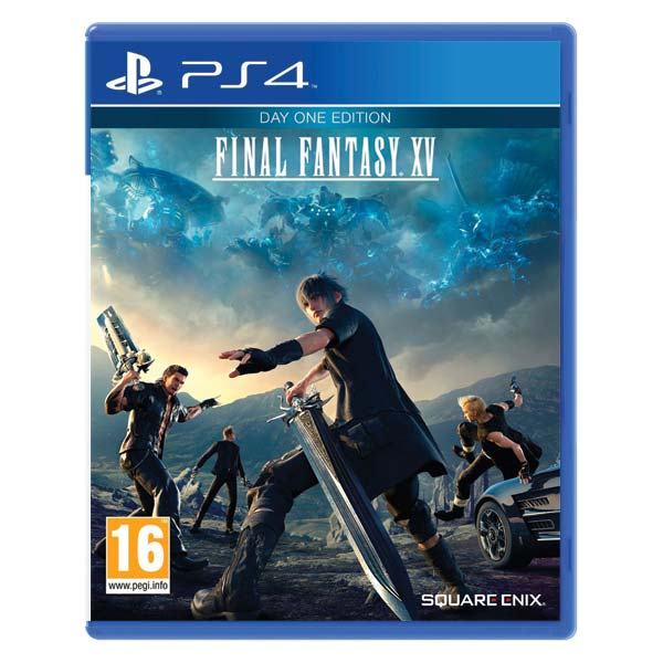 Final Fantasy 15[PS4]-BAZAR (použité zboží)