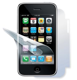 F�lie ScreenShield na cel� t�lo pro Apple iPhone 3G a 3GS - Do�ivotn� z�ruka