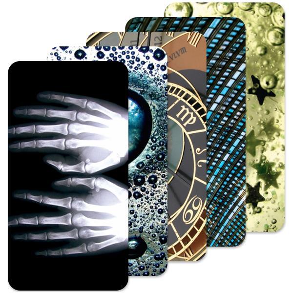 Fólie SkinZone na zadní kryt pro Alcatel One Touch 5036D Pop C5, motiv Abstract dle vlastního výběru