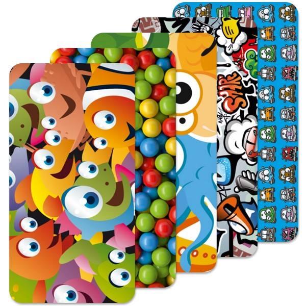 Fólie SkinZone na zadní kryt pro Alcatel One Touch 5036D Pop C5, motiv Kids dle vlastního výběru