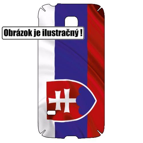 Fólie SkinZone na zadní kryt pro Alcatel One Touch 5036D Pop C5, motiv Slovakia