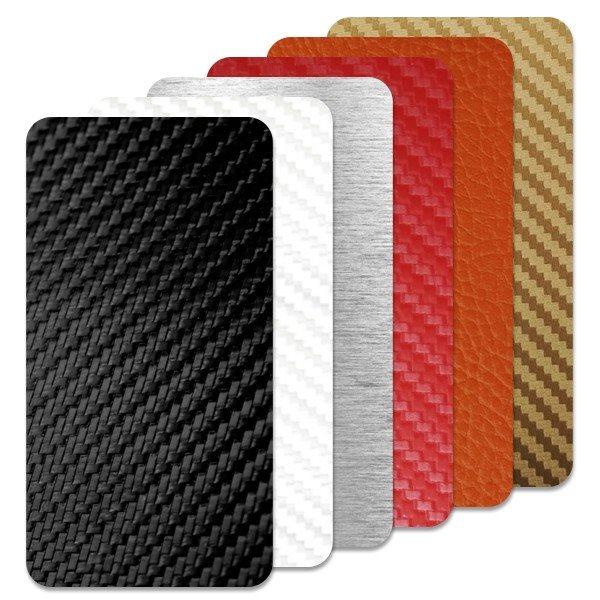 Fólie SkinZone na zadní kryt pro Apple iPhone 4S, motiv Carbon dle vlastního výběru