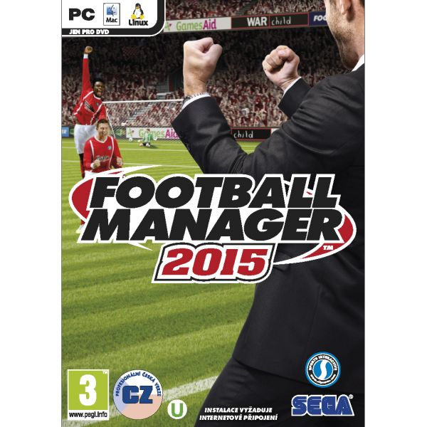 Football Manager 2015 CZ PC