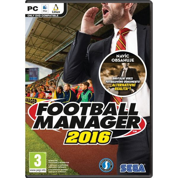 Football Manager 2016 CZ PC
