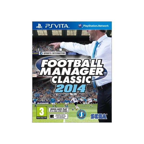 Levně Football Manager Classic 2014 PS Vita