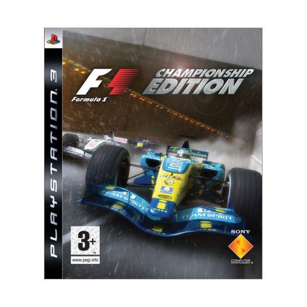 Formule 1 (Championship Edition) PS3