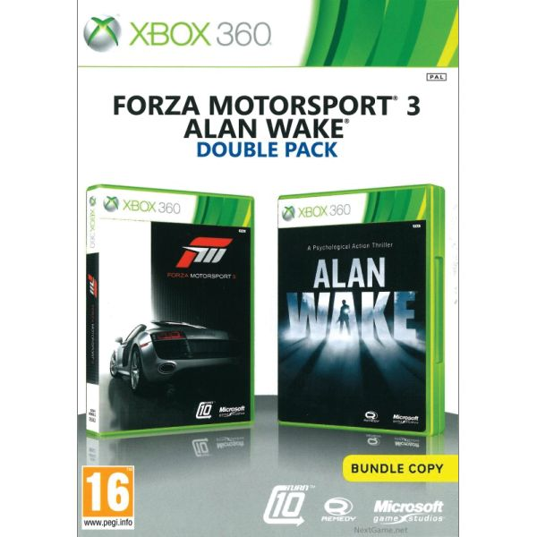 Forza Motorsport 3 CZ + Alan Wake (Double Pack) XBOX 360