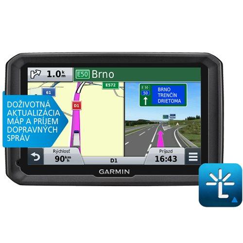Garmin dezl 570LMT + mapy 45 států Evropy + nüMaps Lifetime   Navigace pro nákladní auta