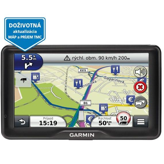 Garmin dezl 760LMT mapy 45 států Evropy nüMaps Lifetime   Navigace pro nákladní auta