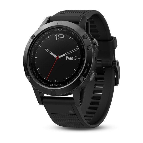 Garmin FENIX 5 Sapphire, Black | Odolné inteligentní hodinky