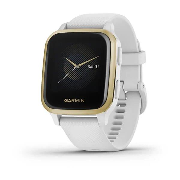 Garmin Venue SQ, White/Light Gold