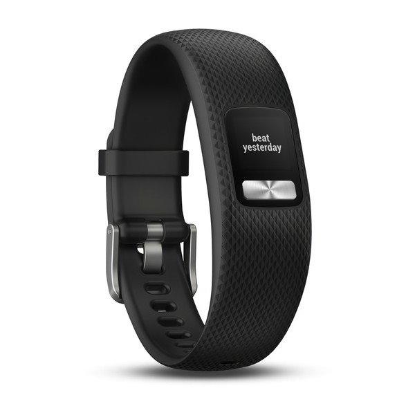 Garmin VivoFit 4, Black | Monitor aktivity, S/M