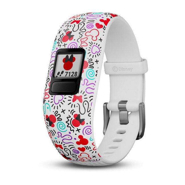 Garmin Vivofit Junior 2, Disney Minnie Mouse (adjustable) | Monitor aktivity pro Vaše dítě