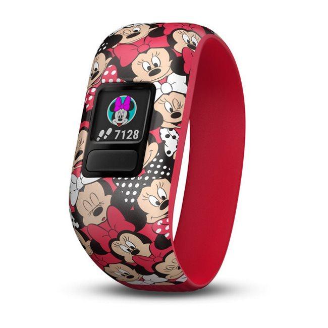 Garmin Vivofit Junior 2, Disney Minnie Mouse (stretchy) | Monitor aktivity pro Vaše dítě