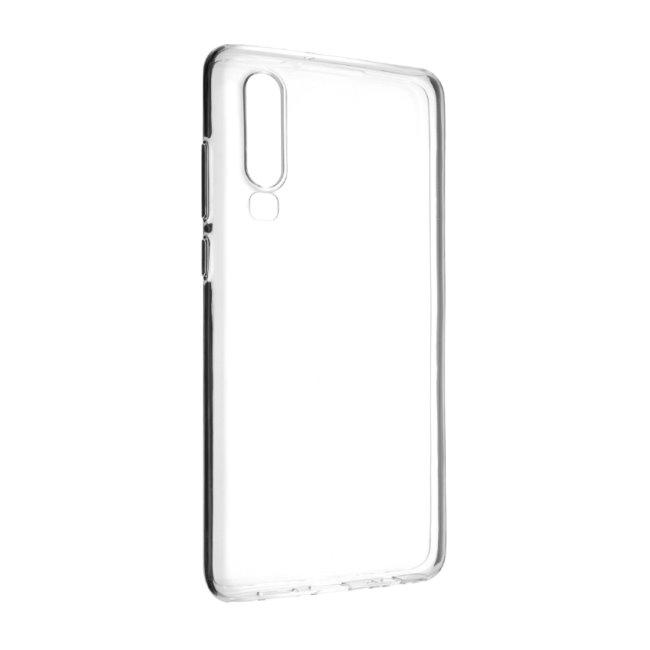 Gelové TPU pouzdro Fixed pro Huawei P30, Transparent