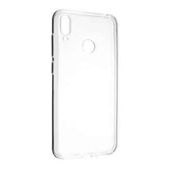 Gelové TPU pouzdro Fixed pro Huawei Y7 (2019), Transparent