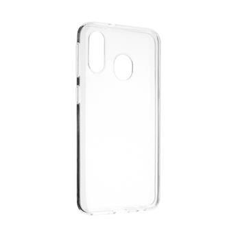 Gelové TPU pouzdro Fixed pro Samsung Galaxy A40, Transparent