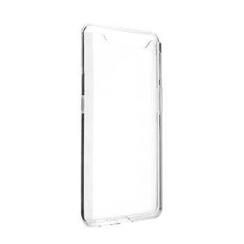Gelové TPU pouzdro Fixed pro Samsung Galaxy A80, Transparent