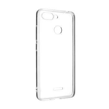 Gelové TPU pouzdro Fixed pro Xiaomi Redmi 6, Transparent