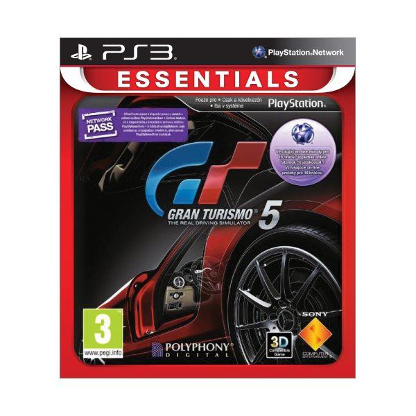 Gran Turismo 5-PS3-BAZAR (použité zboží)