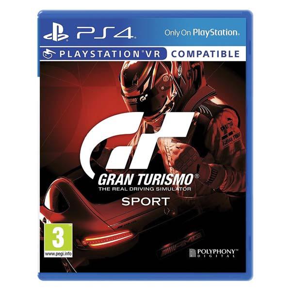 Gran Turismo Sport CZ[PS4]-BAZAR (použité zboží)