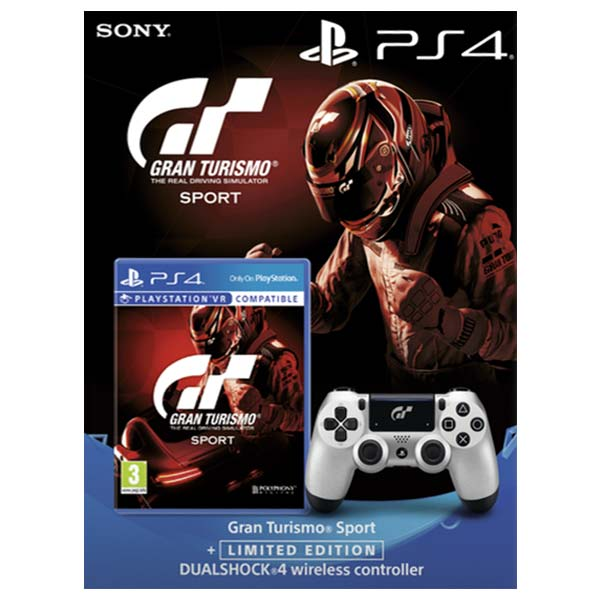 Gran Turismo Sport + DualShock 4 Wireless Controller v2 (Gran Turismo Sport Limited Edition) PS4