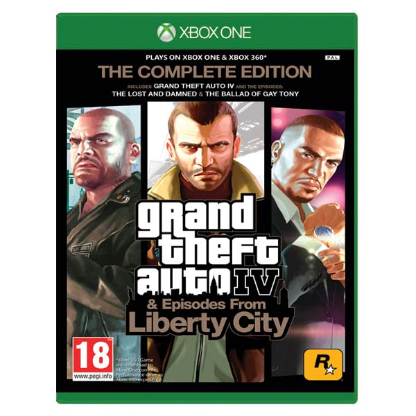 Grand Theft Auto 4: Complete Edition XBOX ONE