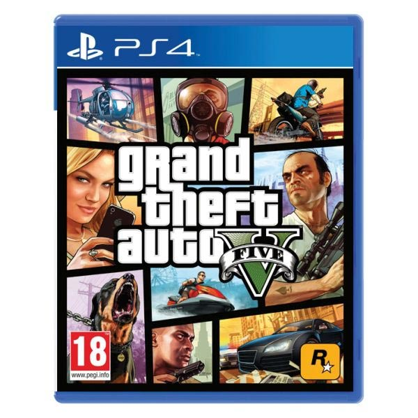 Grand Theft Auto 5[PS4]-BAZAR (použité zboží)