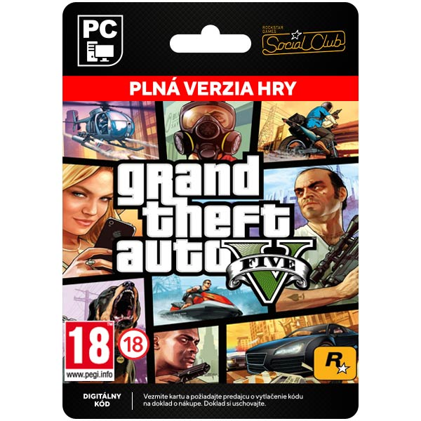 Grand Theft Auto 5[Social Club]