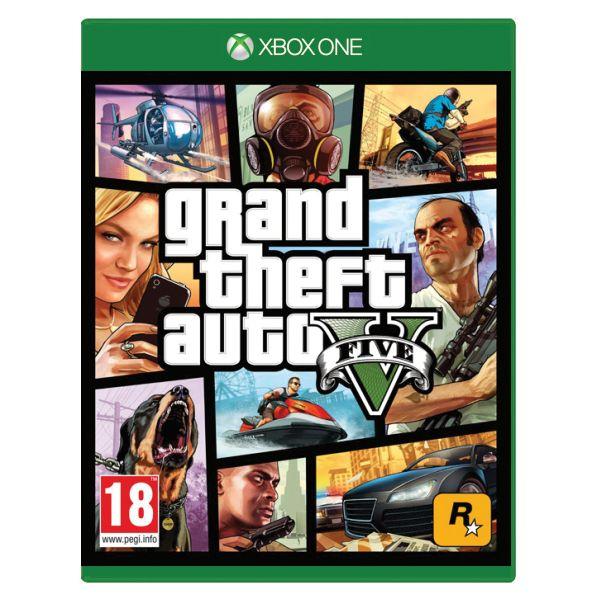 Grand Theft Auto 5[XBOX ONE]-BAZAR (použité zboží)