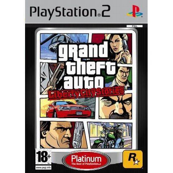 Grand Theft Auto: Liberty City Stories PS2