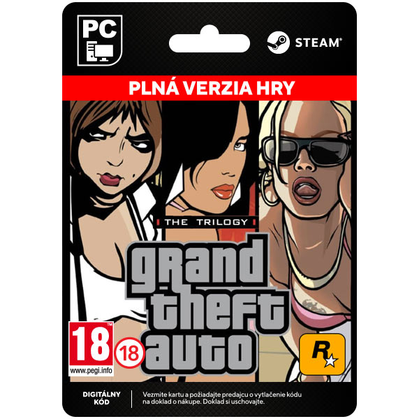 Grand Theft Auto: The Trilogy [Steam]
