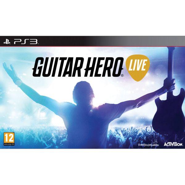 Guitar Hero Live + kytara PS3