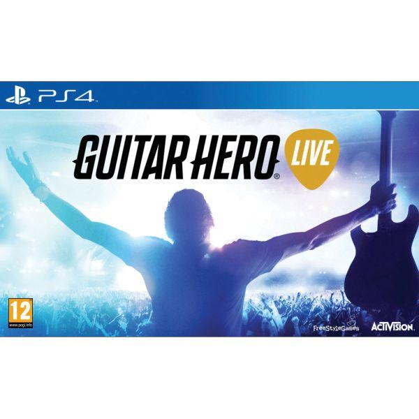 Guitar Hero Live + kytara PS4